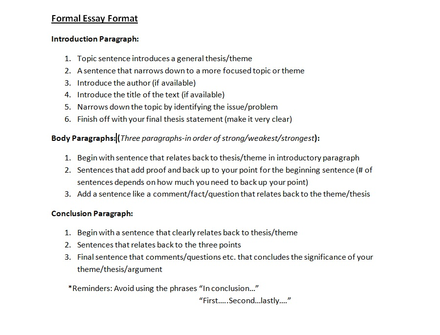 "formal english essay format Putting together an argumentative essay outline is the perfect way to get started on your argumentative essay assignment—just fill in the blanks i am writing a argumentative essay for ""being competent in english language is necessary for successful academic achievement"" cloud you plx give me a best."